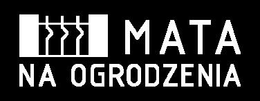 Mata na ogrodzenia - logo